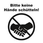 Keine Hände schütteln