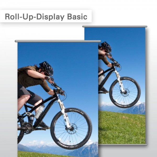 Roll-Up Display bedruckt