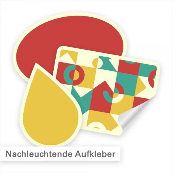 Leuchtaufkleber individuell kalkulieren und bestellen - SalierDruck.de
