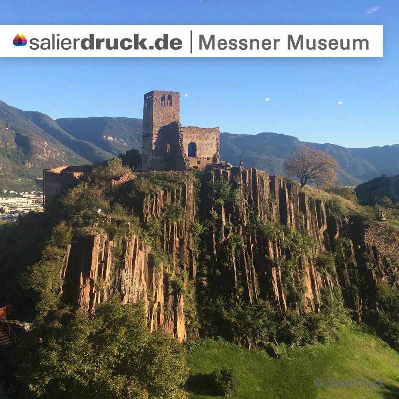Ein wunderschöner Ausbilck auf das Messner Museum.