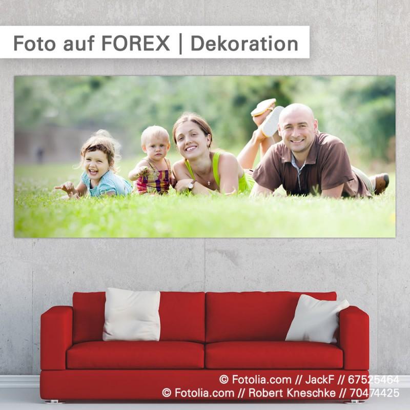 Ihr Foto auf FOREX zur Dekoration - individuell drucken bei SalierDruck.de