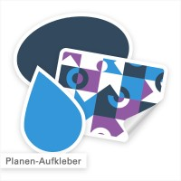 Planenaufkleber – ideal für Banner & Planen | SalierDruck.de