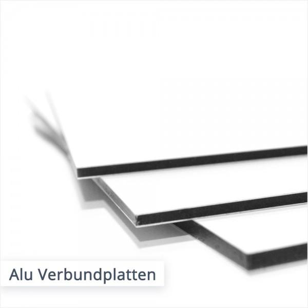 Aluminium Verbundplatten individuell bestellen | SalierDruck.de