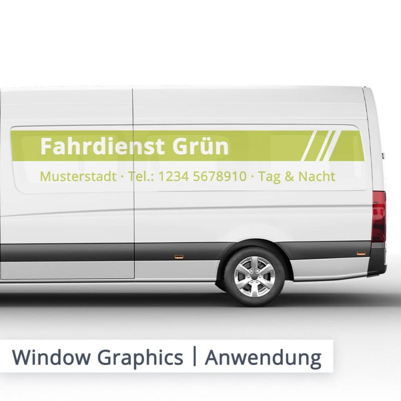 ORAJET 3676 Window Graphics Lochfolie – Anwendungsbeispiel – SalierDruck.de