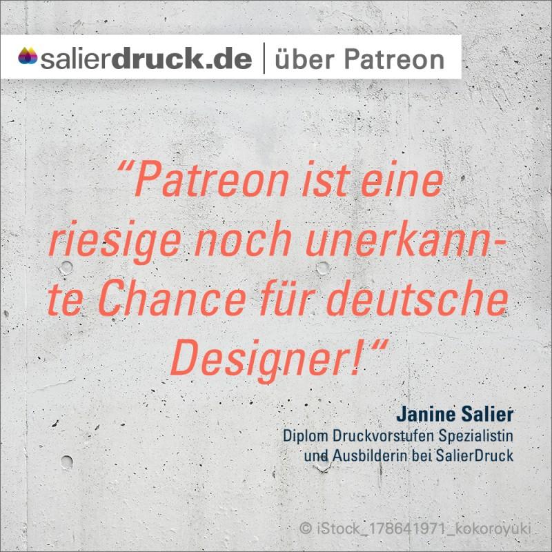 """""""Patreon ist eine riesige, noch unerkannte Chance für deutsche Designer."""""""