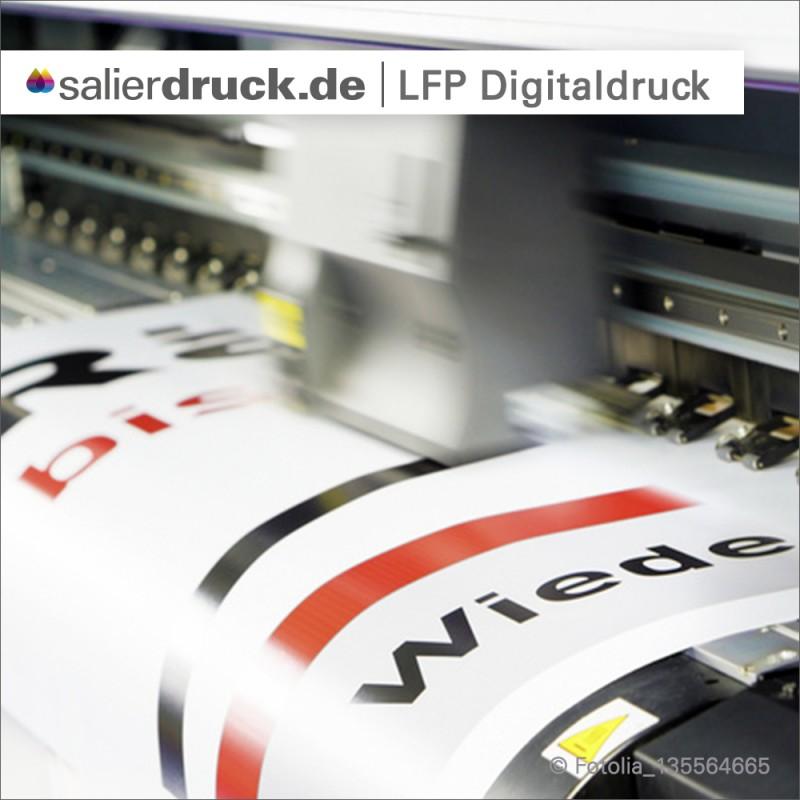Wir selbst produzieren unsere Drucke auf LFP Digitaldruckern...