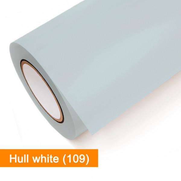 Plotterfolie Oracal - 751C-109 Hull white - günstig bei SalierShop.de