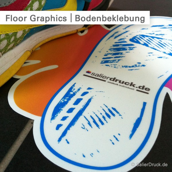 Floor Graphics individuell drucken - SalierDruck.de