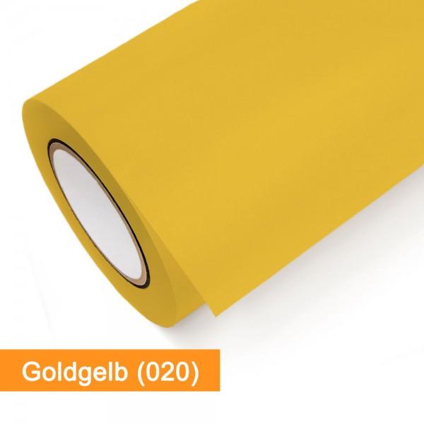 Plotterfolie Oracal - 631-020 Goldgelb - günstig bei SalierShop.de