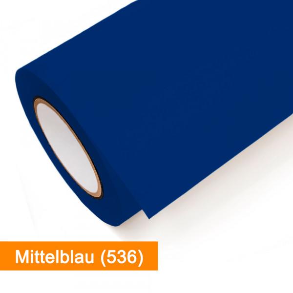 Plotterfolie Oracal - 751C-536 Mittelblau - günstig bei SalierShop.de
