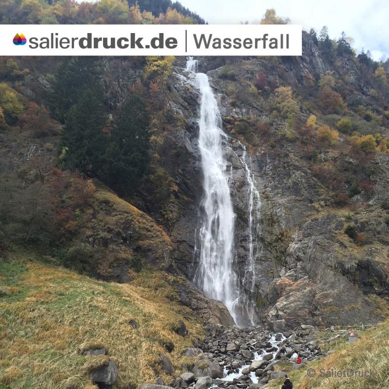 Der Wasserfall von Partschins.