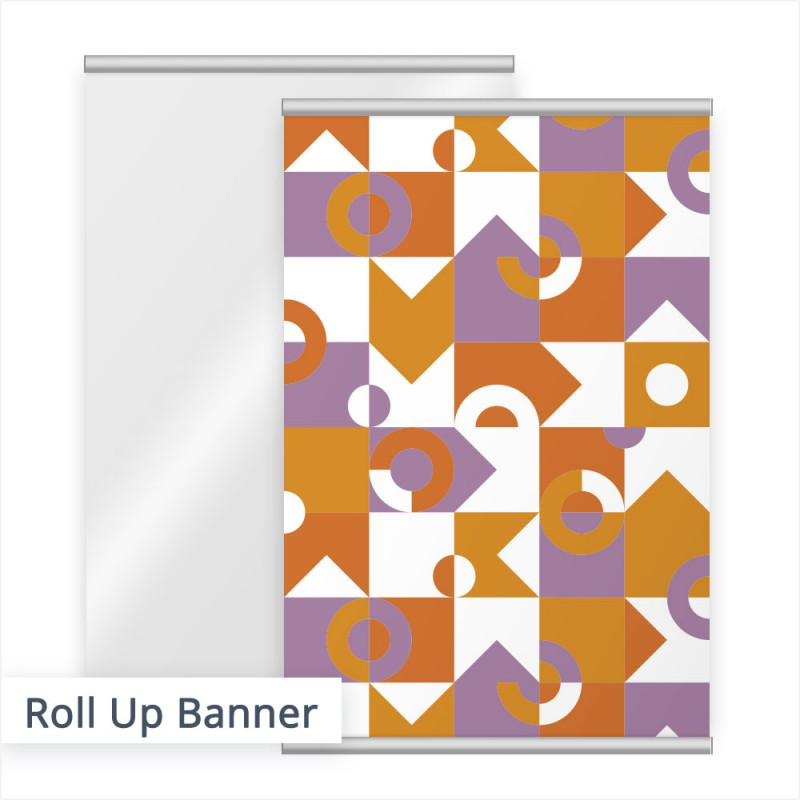 Bestellen Sie Ihr Roll-Up Banner mit individuellem Aufdruck bei SalierDruck.de