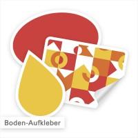 Bodenaufkleber sorgen für Aufmerksamkeit am Boden | SalierDruck.de
