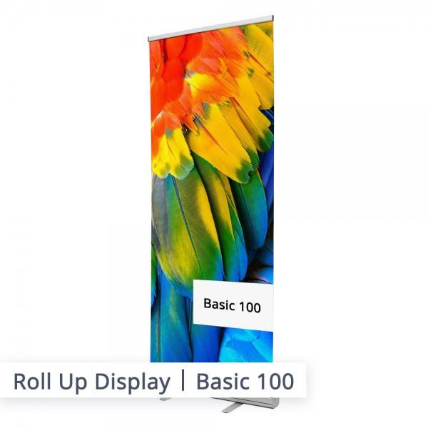 Das 100cm hohe Basic Modell ist ein altbewährter Marketing-Allrounder in der Promotion Werbetechnik. Bringen Sie alle wichtigen Informationen auf ein Banner um den Kunden gleich von Ihrer Dienstleistung oder dem Produkt zu überzeugen.