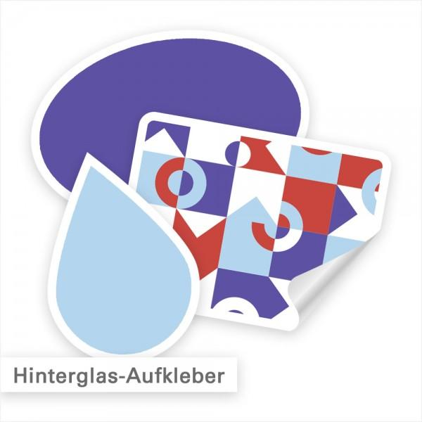 Hinterglasaufkleber individuell mit Ihrem Design | SalierDruck.de