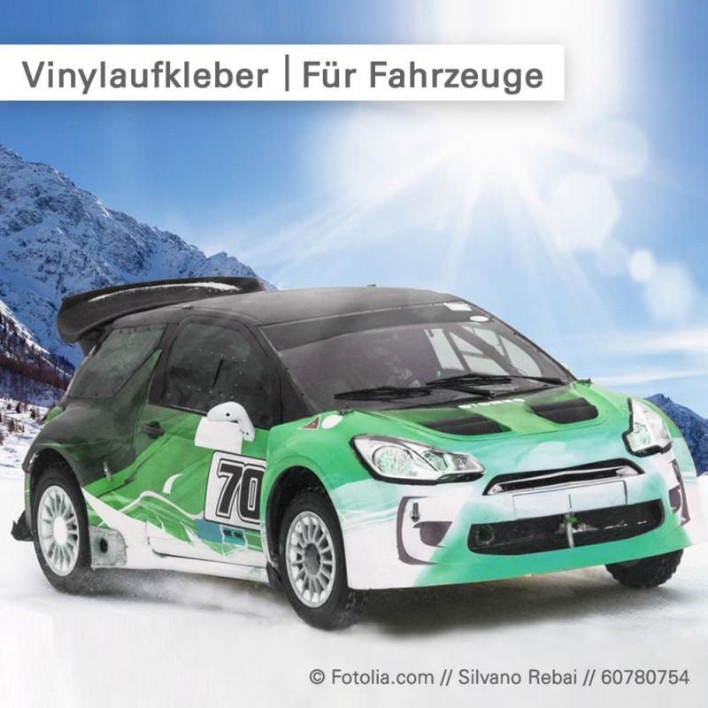 Vinylaufkleber für Fahrzeuge individuell bedruckt...