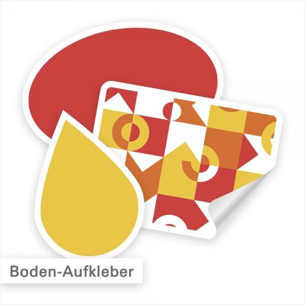 Bodenaufkleber individuell bedruckt - SalierDruck.de