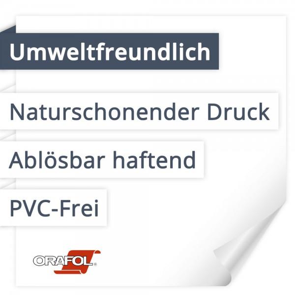 Orafol Orajet 3172X Umweltfreundlich   PVC-Frei   Ablösbar haftend   Naturschonender Druck