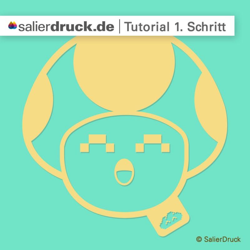 CMYK-Gold-Anleitung 1. Schritt | SalierDruck