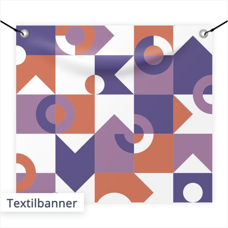 Textilbanner können Sie bei uns auf Wunsch mit oder ohne Ösen & mit individuellem Aufdruck bestellen. | SalierDruck