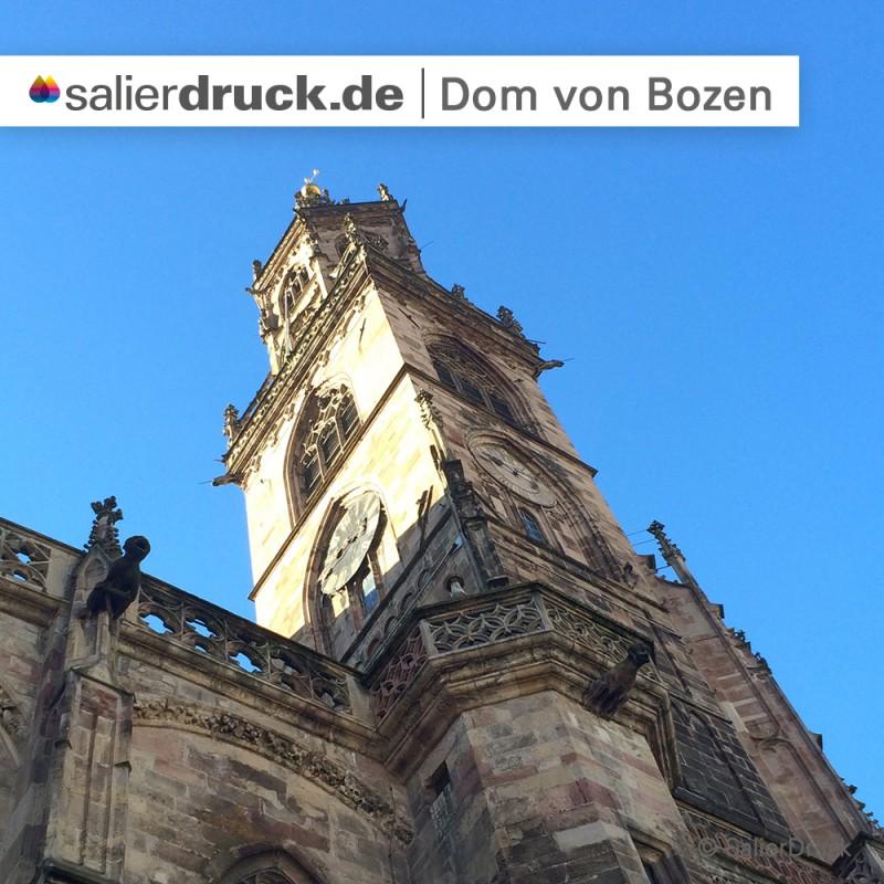 Der Dom von Bozen.