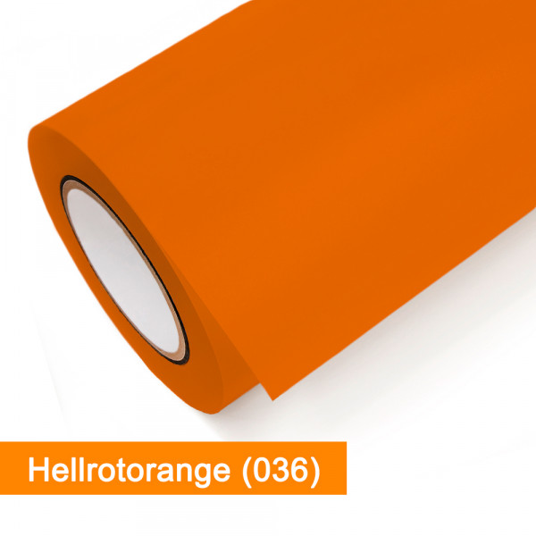 Plotterfolie Oracal - 651-036 Hellrotorange - günstig bei SalierShop.de