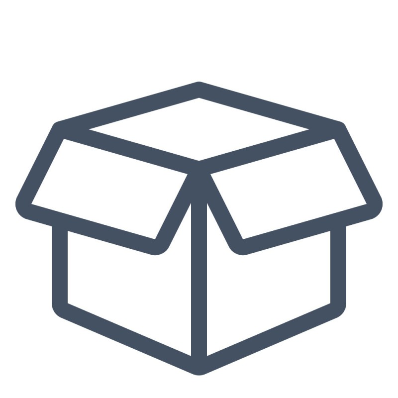 Einfache Kartons und andere Papierverpackungen werden mit auffälligen Produktaufklebern verschönert.