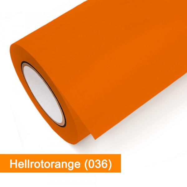 Plotterfolie Oracal - 631-036 Hellrotorange - günstig bei SalierShop.de