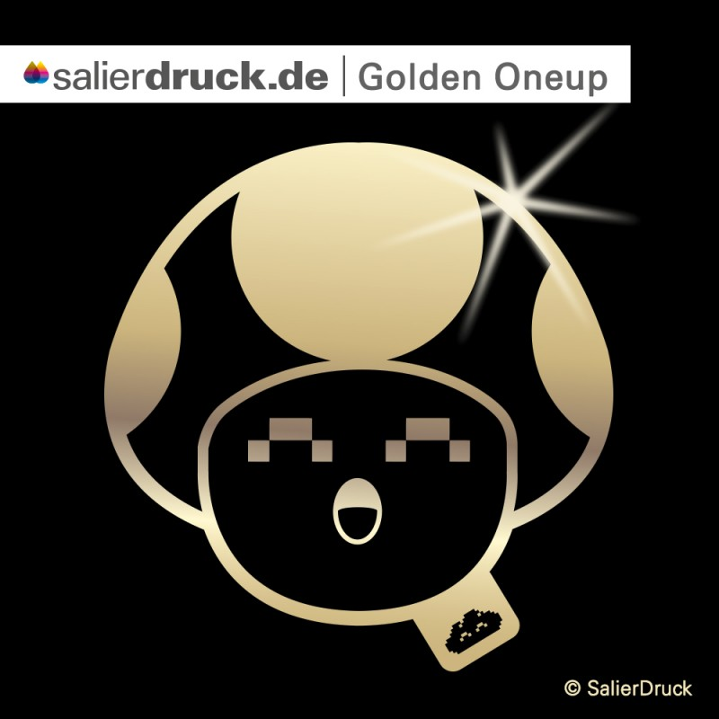 CMYK Gold – thecloudartist Oneup | SalierDruck