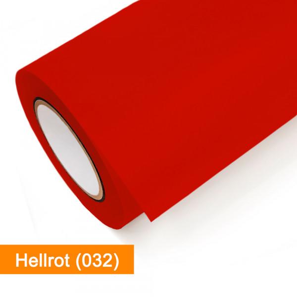 Plotterfolie Oracal - 631-032 Hellrot - günstig bei SalierShop.de