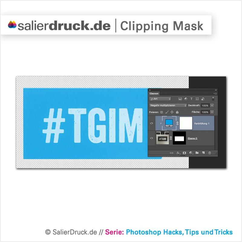 Die Photoshop Clipping-Mask als universal Tool zum schnellen Einfärben – SalierBlog