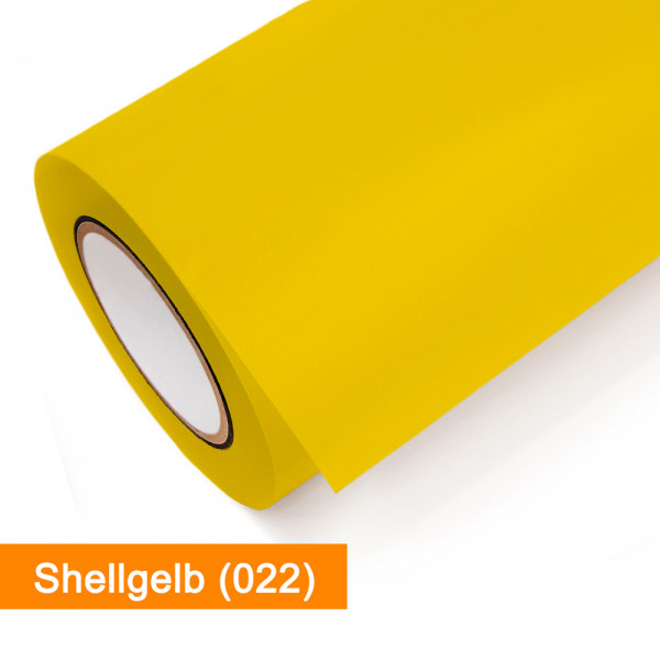 Plotterfolie Oracal - 631-022 Shellgelb - günstig bei SalierShop.de