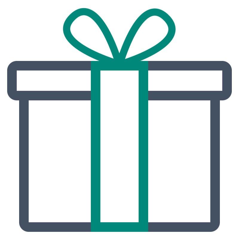 Verzieren Sie Geschenkverpackungen mit schönen und auffälligen kleinen Stickern.