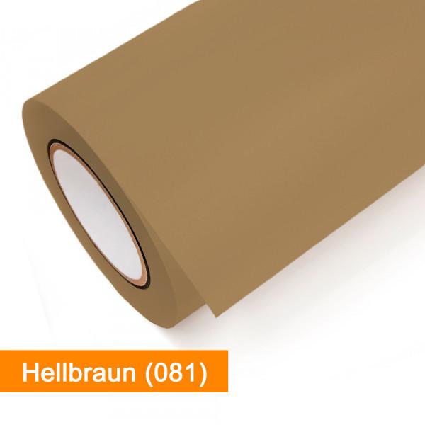 Plotterfolie Oracal - 651-081 Hellbraun - günstig bei SalierShop.de