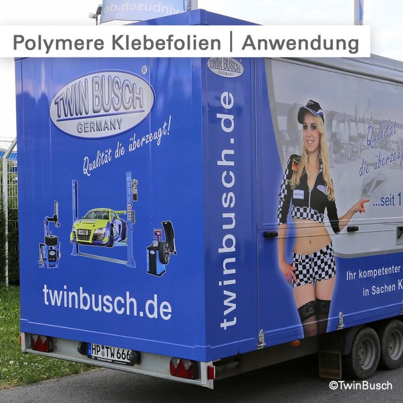 Polymere Klebefolien – Individuell bedruckt – SalierDruck.de