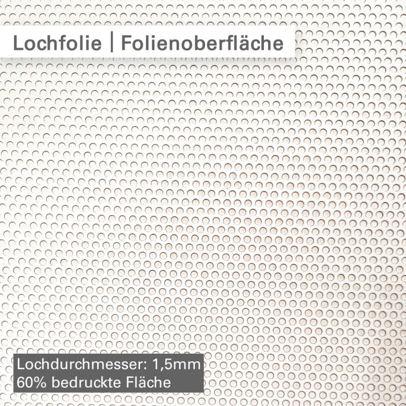 3676 Window Graphics Lochfolie – Folienoberfläche – SalierDruck.de