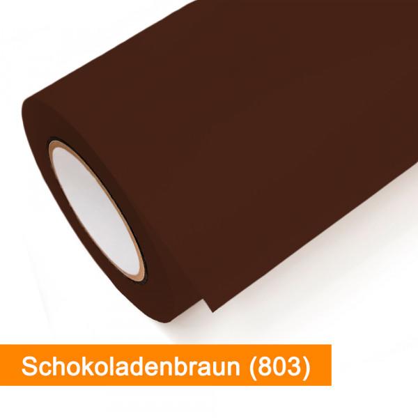 Plotterfolie Oracal - 751C-803 Schokoladenbraun - günstig bei SalierShop.de