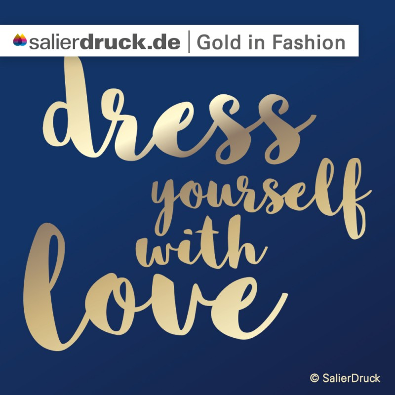 CMYK Gold in Fashion | SalierDruck