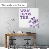 Wasserfestes Papier