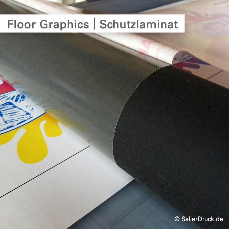 Floor Graphics Folien mit besonderem Schutzlaminat | SalierDruck.de