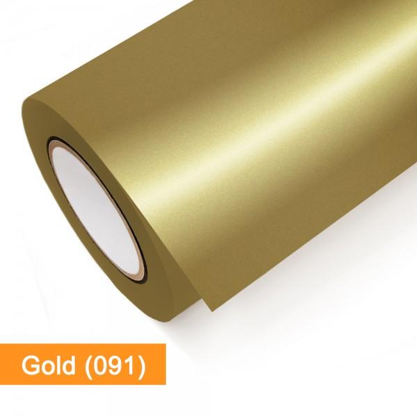 Gold 091 – glänzend – Oracal 651