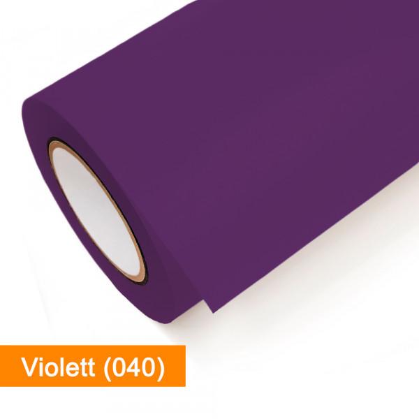 Plotterfolie Oracal - 751C-040 Violett - günstig bei SalierShop.de