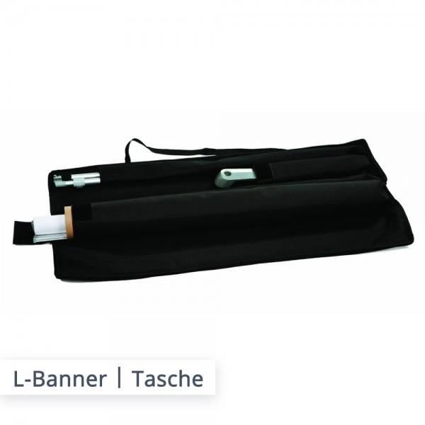 L-Banner mit individuellem Druck online bestellen bei SalierDruck.de