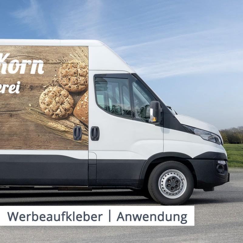 Machen Sie Ihre Werbung mobil. Als Bäcker können Sie zum Beispiel dem Kunden unterwegs schon Hunger machen.