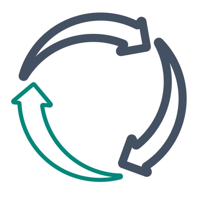 Wiederverwendbare Aufkleber sind eine umweltfreundlichere Alternative zu ablösbaren Aufklebern.