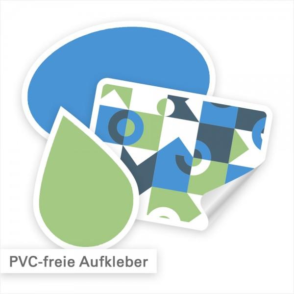 PVC-freie Aufkleber umweltfreundlich drucken - SalierDruck.de
