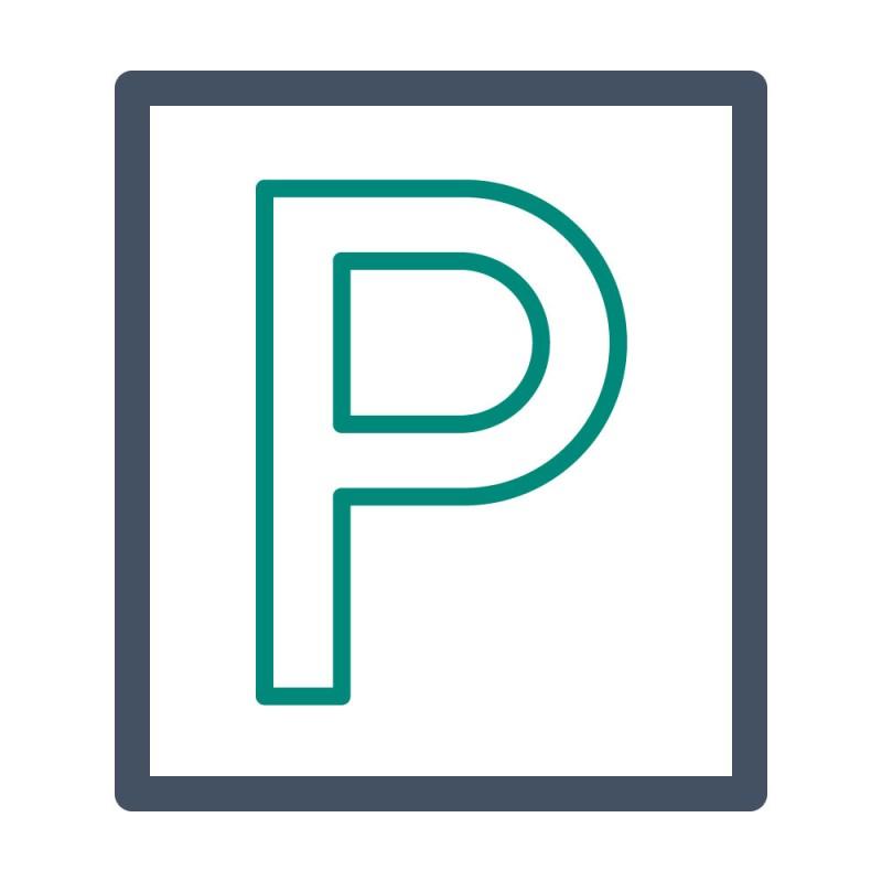 Zeigen Sie Besuchern auf den ersten Blick, welche Parkplätze zu Ihrem Betrieb gehören, indem Sie einen Asphaltaufkleber mit Ihrem Logo verkleben.