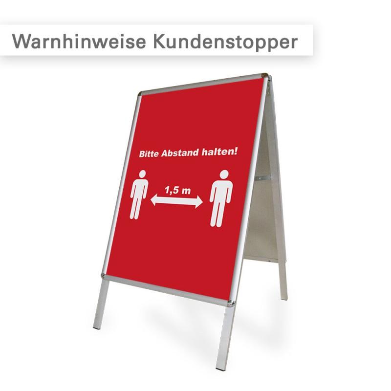 Corona Poster und Plakate | ideal für Kundenstopper | SalierDruck.de