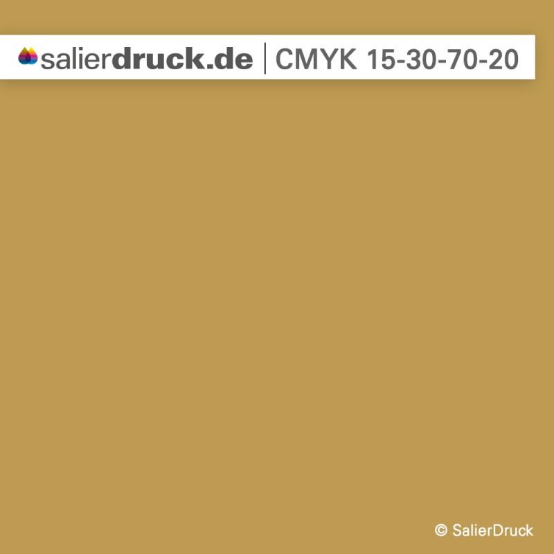 Gold dunkler Ton | SalierDruck
