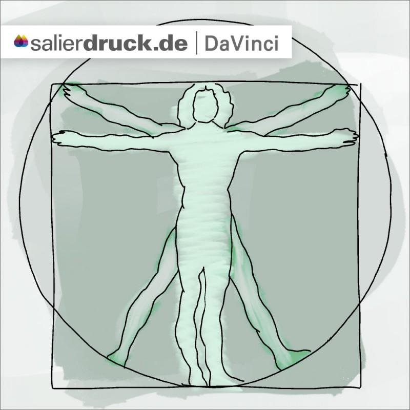 Muss es immer so perfekt wie Davinci's Arbeit sein? – SalierDruck